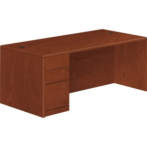 HON 10700 Series Left Pedestal Desk HON10788LJJ