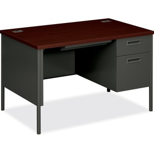 HON Metro Classic Single Pedestal Desk HONP3251RNS