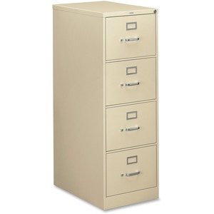 HON 310 Series Vertical File With Lock HON314CPL