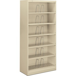 HON 600 Series Shelf Open File Cabinet HON626CNL
