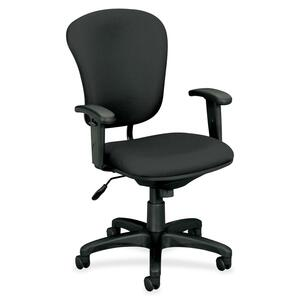 Basyx by HON VL620 Mid-Back Task Chair with Adjustable Arms BSXVL620VA19