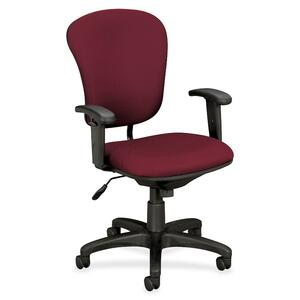 Basyx by HON VL620 Mid-Back Task Chair with Adjustable Arms BSXVL620VA62