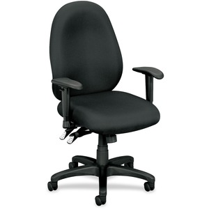 Basyx by HON VL630 Mid-Back High Performance Task Chair with Adjustable Arms BSXVL630VA19