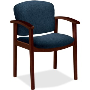 HON Invitation 2111 Single Rail Arm Chair HON2111NAB90
