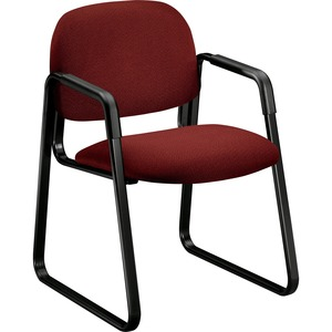 HON Solutions Seating 4008 Ergonomic Sled-Base Guest Chair HON4008AB62T