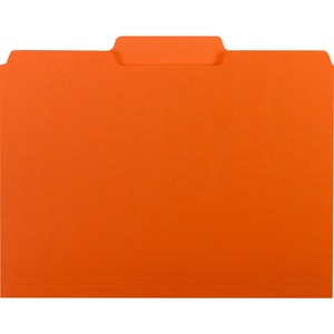 Smead 10259 Orange Interior File Folders SMD10259