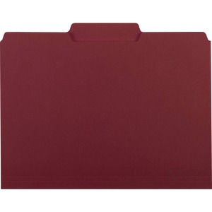 Smead 10275 Maroon Interior File Folders SMD10275
