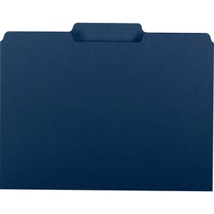 Smead 10279 Navy Blue Interior File Folders SMD10279