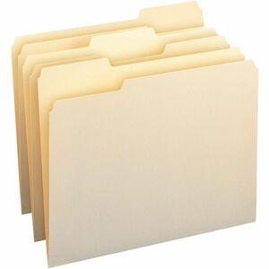 Smead Manila File Folder, 1/3-Cut Tab, Letter Size, Manila, 100 per Box (10330)