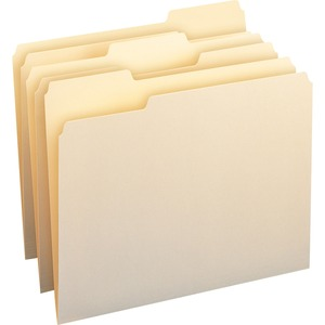 Smead 10338 Manila File Folders with Antimicrobial Product Protection SMD10338