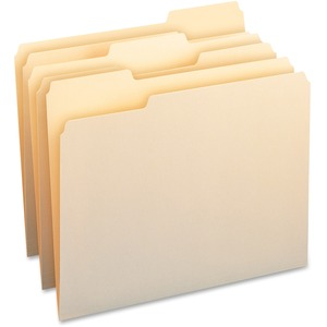 Smead 10343 Manila WaterShed/CutLess File Folders SMD10343