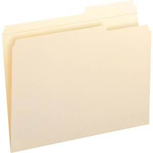 Smead 10386 Manila File Folders with Reinforced Tab SMD10386