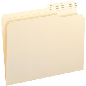 Smead 10388 Manila File Folders with Reinforced Tab SMD10388