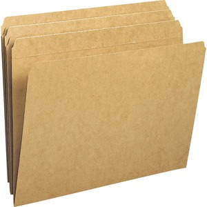 Smead 10710 Kraft File Folders with Reinforced Tab SMD10710