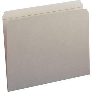 Smead 12310 Gray Colored File Folders with Reinforced Tab SMD12310