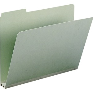 Smead 13234 Gray/Green Pressboard File Folders SMD13234