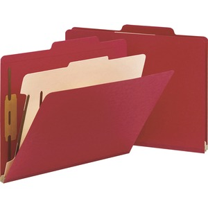 Smead 13703 Red Classification File Folders SMD13703
