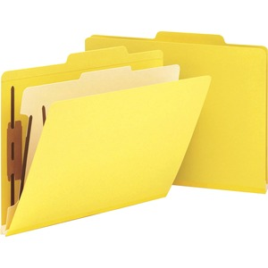 Smead 13704 Yellow Classification File Folders SMD13704