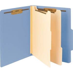 Smead 14001 Blue Classification File Folders SMD14001