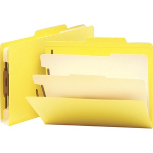 Smead 14004 Yellow Classification File Folders SMD14004