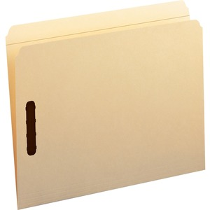 Smead 14513 Manila Fastener File Folders with Reinforced Tab SMD14513