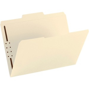 Smead 14534 Manila Fastener File Folders with Reinforced Tab SMD14534