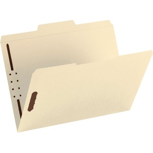 Smead 14580 Manila Fastener File Folders with Reinforced Tab SMD14580