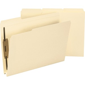 Smead 14595 Manila Expansion Fastener File Folders with Reinforced Tab SMD14595