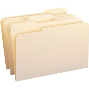 Smead 15334 Manila File Folders with Reinforced Tab SMD15334