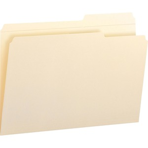 Smead 15386 Manila File Folders with Reinforced Tab SMD15386