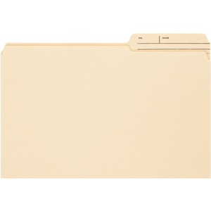 Smead 15388 Manila File Folders with Reinforced Tab SMD15388