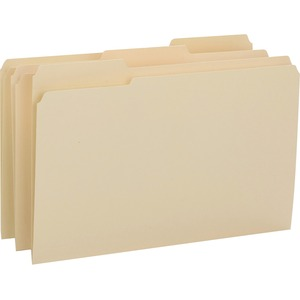 Smead 15434 Manila File Folders with Reinforced Tab SMD15434