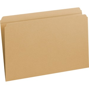 Smead 15710 Kraft File Folders with Reinforced Tab SMD15710