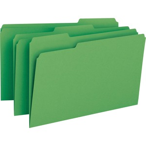Smead 17143 Green Colored File Folders SMD17143