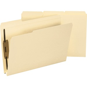 Smead 19595 Manila Expansion Fastener File Folders with Reinforced Tab SMD19595