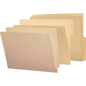 Smead 24109 Manila End Tab File Folders with Reinforced Tab SMD24109