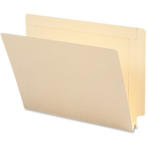 Smead 24275 Manila End Tab File Folders with Reinforced Tab SMD24275
