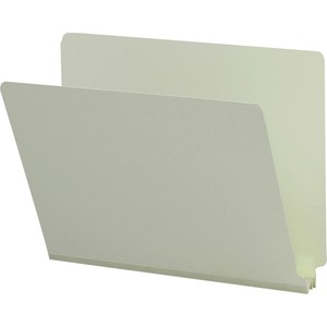Smead 26210 Gray/Green End Tab Pressboard File Folders SMD26210