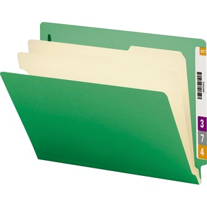Smead 26837 Green End Tab Classification File Folder SMD26837