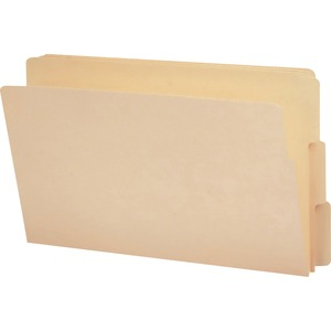 Smead 27134 Manila End Tab File Folders with Reinforced Tab SMD27134