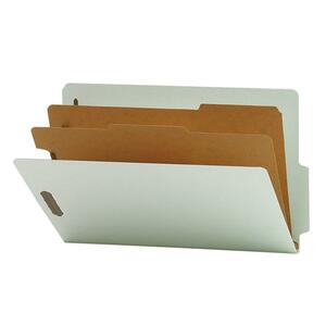 Smead Recycled End Tab Classification Folder SMD29779