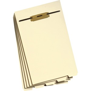Smead 35650 Manila Folder Dividers with Fastener SMD35650