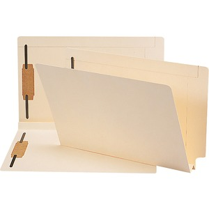 Smead 37276 Manila End Tab Fastener File Folders with Reinforced Tab SMD37276