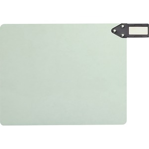 Smead 61757 Gray/Green 100% Recycled Extra Wide End Tab Pressboard Guides with Horizontal Metal Tab SMD61757
