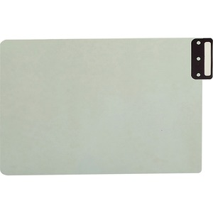 Smead 63235 Gray/Green 100% Recycled Extra Wide End Tab Pressboard Guides with Vertical Metal Tab SMD63235