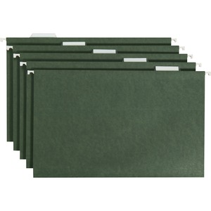 Smead 64155 Standard Green Hanging File Folders SMD64155