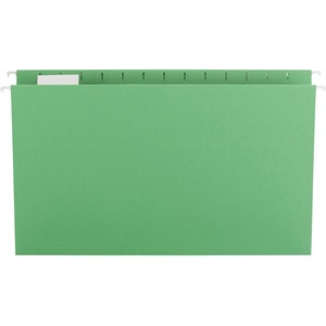 Smead 64161 Green Colored Hanging Folders with Tabs SMD64161