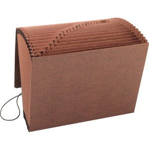 Smead 70318 Leather-Like TUFF Expanding Files with Flap and Elastic Cord SMD70318