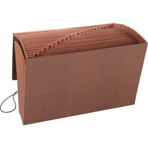 Smead 70320 Leather-Like TUFF Expanding Files with Flap and Elastic Cord SMD70320