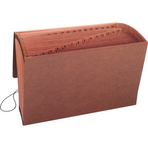 Smead 70369 Leather-Like TUFF Expanding Files with Flap and Elastic Cord SMD70369